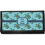 Sea Turtles Canvas Checkbook Cover (Personalized)
