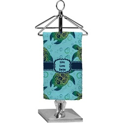 Sea Turtles Finger Tip Towel - Full Print (Personalized)