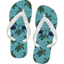 Sea Turtles Flip Flops (Personalized)