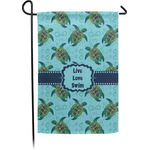 Sea Turtles Garden Flag - Single or Double Sided (Personalized)