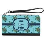 Sea Turtles Genuine Leather Smartphone Wrist Wallet (Personalized)