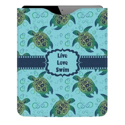 Sea Turtles Genuine Leather iPad Sleeve (Personalized)