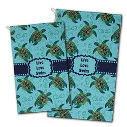 Sea Turtles Golf Towel - Full Print