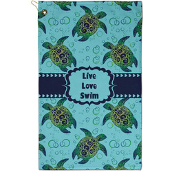 Sea Turtles Golf Towel - Full Print - Small