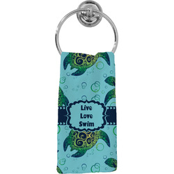 Sea Turtles Hand Towel - Full Print (Personalized)