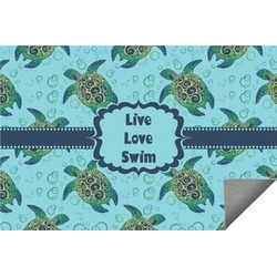 Sea Turtles Indoor / Outdoor Rug (Personalized)