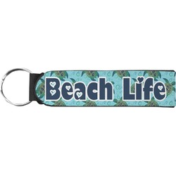 Sea Turtles Neoprene Keychain Fob (Personalized)