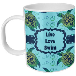 Sea Turtles Plastic Kids Mug (Personalized)