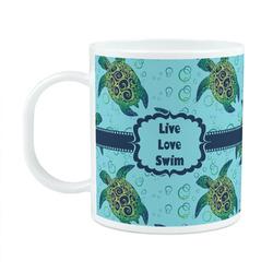 Sea Turtles Plastic Kids Mug (Personalized)