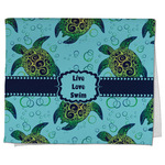 Sea Turtles Kitchen Towel - Full Print (Personalized)