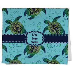 Sea Turtles Kitchen Towel - Full Print (Personalized)