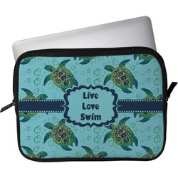 "Sea Turtles Laptop Sleeve / Case - 15"" (Personalized)"