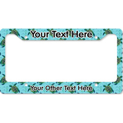 Sea Turtles License Plate Frame (Personalized)