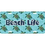 Sea Turtles Front License Plate (Personalized)