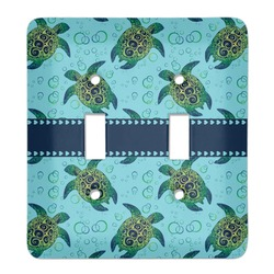 Sea Turtles Light Switch Cover (2 Toggle Plate) (Personalized)