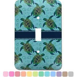 Sea Turtles Light Switch Cover (Single Toggle) (Personalized)