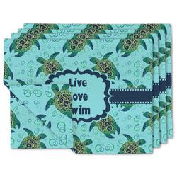 Sea Turtles Linen Placemat