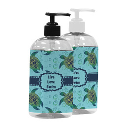 Sea Turtles Plastic Soap / Lotion Dispenser (Personalized)
