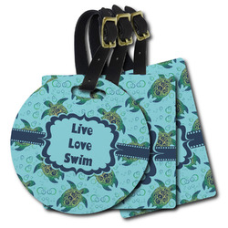 Sea Turtles Plastic Luggage Tags