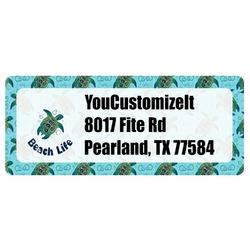 Sea Turtles Return Address Label (Personalized)