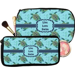 Sea Turtles Makeup / Cosmetic Bag (Personalized)