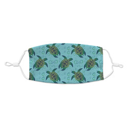 Sea Turtles Kid's Cloth Face Mask (Personalized)