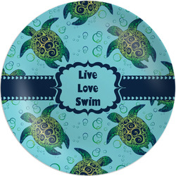 Sea Turtles Melamine Plate (Personalized)