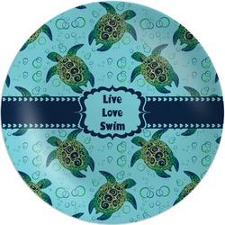 Sea Turtles Melamine Plate (Personalized)