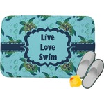 Sea Turtles Memory Foam Bath Mat (Personalized)