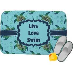 Sea Turtles Memory Foam Bath Mat (Personalized)