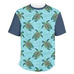 Sea Turtles Men's Crew T-Shirt (Personalized)