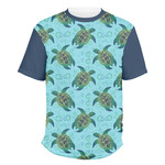 Sea Turtles Men's Crew T-Shirt (Personalized)