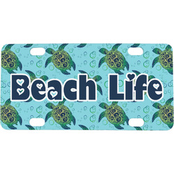 Sea Turtles Mini / Bicycle License Plate (Personalized)