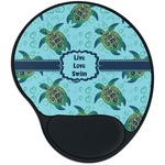 Sea Turtles Mouse Pad with Wrist Support