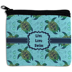 Sea Turtles Rectangular Coin Purse (Personalized)