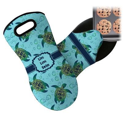 Sea Turtles Neoprene Oven Mitt (Personalized)