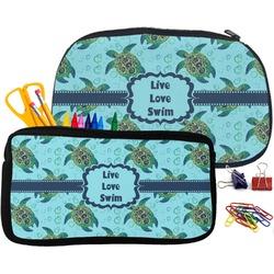 Sea Turtles Pencil / School Supplies Bag (Personalized)