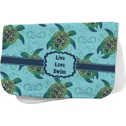 Sea Turtles Burp Cloth (Personalized)