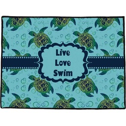 Sea Turtles Door Mat (Personalized)