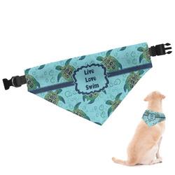 Sea Turtles Dog Bandana (Personalized)