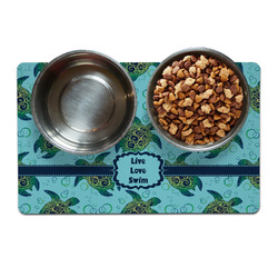 Sea Turtles Dog Food Mat (Personalized)