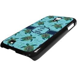 Sea Turtles Plastic Samsung Galaxy 4 Phone Case (Personalized)