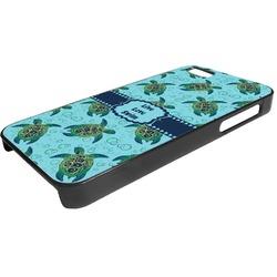 Sea Turtles Plastic iPhone 5/5S Phone Case (Personalized)