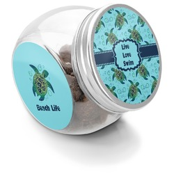 Sea Turtles Puppy Treat Jar (Personalized)