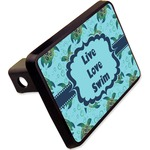 """Sea Turtles Rectangular Trailer Hitch Cover - 2"""" (Personalized)"""