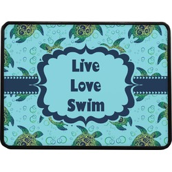 Sea Turtles Rectangular Trailer Hitch Cover (Personalized)