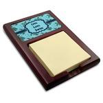 Sea Turtles Red Mahogany Sticky Note Holder (Personalized)