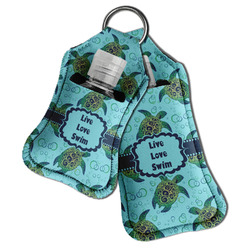 Sea Turtles Hand Sanitizer & Keychain Holder