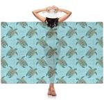 Sea Turtles Sheer Sarong (Personalized)