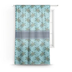 Sea Turtles Sheer Curtains (Personalized)